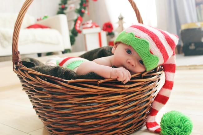 Carta para mi bebé en su primera Navidad