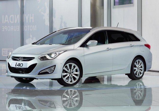 Hyundai i40, las imágenes oficiales y algún dato más