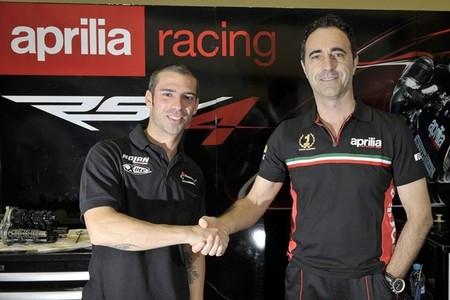 Marco Melandri confirmado como piloto Aprilia en el WSBK 2014