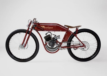 Sportsman Flyer Racer ¿Es una bicicleta, es un ciclomotor? no, es una Board Tracker actual