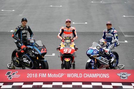 Martin Bagnaia Marquez Motogp 2018