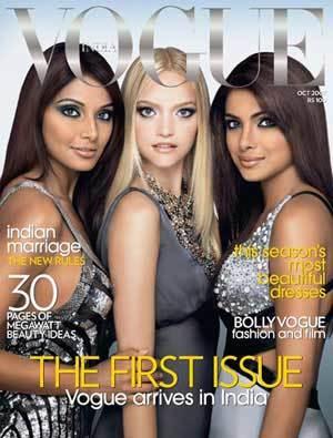 Lanzamiento de Vogue India