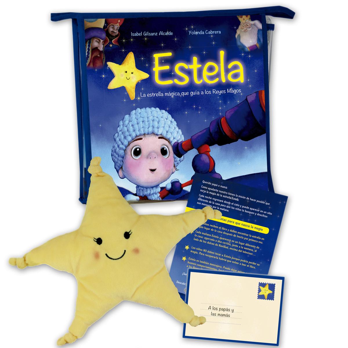 Estela, la estrella que guía a los Reyes Magos