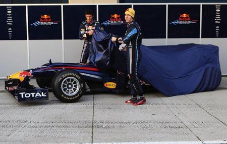 Red Bull y Toro Rosso presentarán sus monoplazas el primer día de test de pretemporada