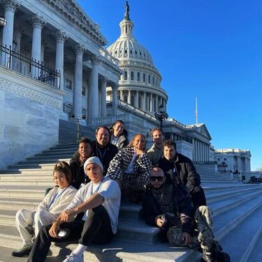 Jennifer Lopez y Lady Gaga ya están en Washington preparadas para la investidura de Joe Biden y muestran looks de lo más ideales
