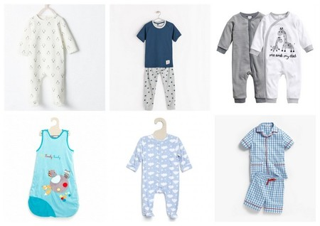 pijamas para bebé niño y niño