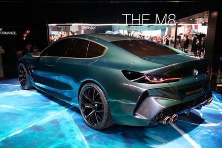 Bmw M8 Gran Coupe Concept en el Salón de Ginebra 2018