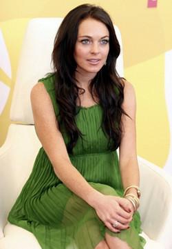 Lindsay Lohan imagen de Miu Miu