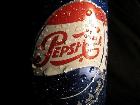 Botella de Pepsi-Cola fresca