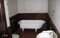 Antes y después: un baño romántico