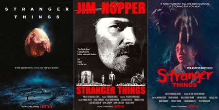 Los nuevos pósters de 'Stranger Things' son el mejor y más grande homenaje al cine de los 80
