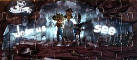 Un puzzle del juego que Ron Gilbert está desarrollando para Double Fine nos pone los dientes largos