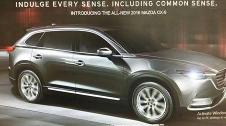 Ya puedes ver el Mazda CX-9 al desnudo antes del Salón de Los Ángeles