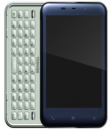Toshiba K01 con pantalla OLED multitáctil y teclado deslizante