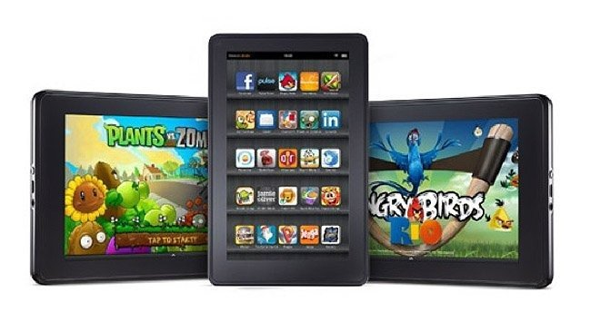 Aplicaciones Kindle Fire