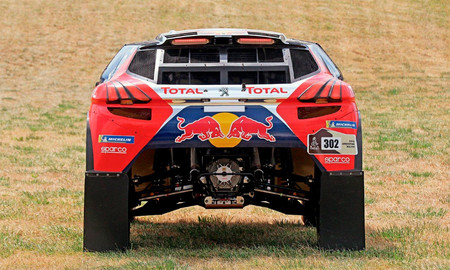 Peugeot 2008 DKR16, a subasta