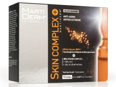 MartiDerm vuelve a superarse: nacen las ampollas Skin Complex+. ¿Te imaginas su resultado en tu piel?