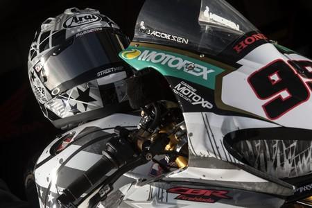 Pj Jacobsen Tirplem Honda Homenaje Hayden Laguna Seca Wsbk 2018 2