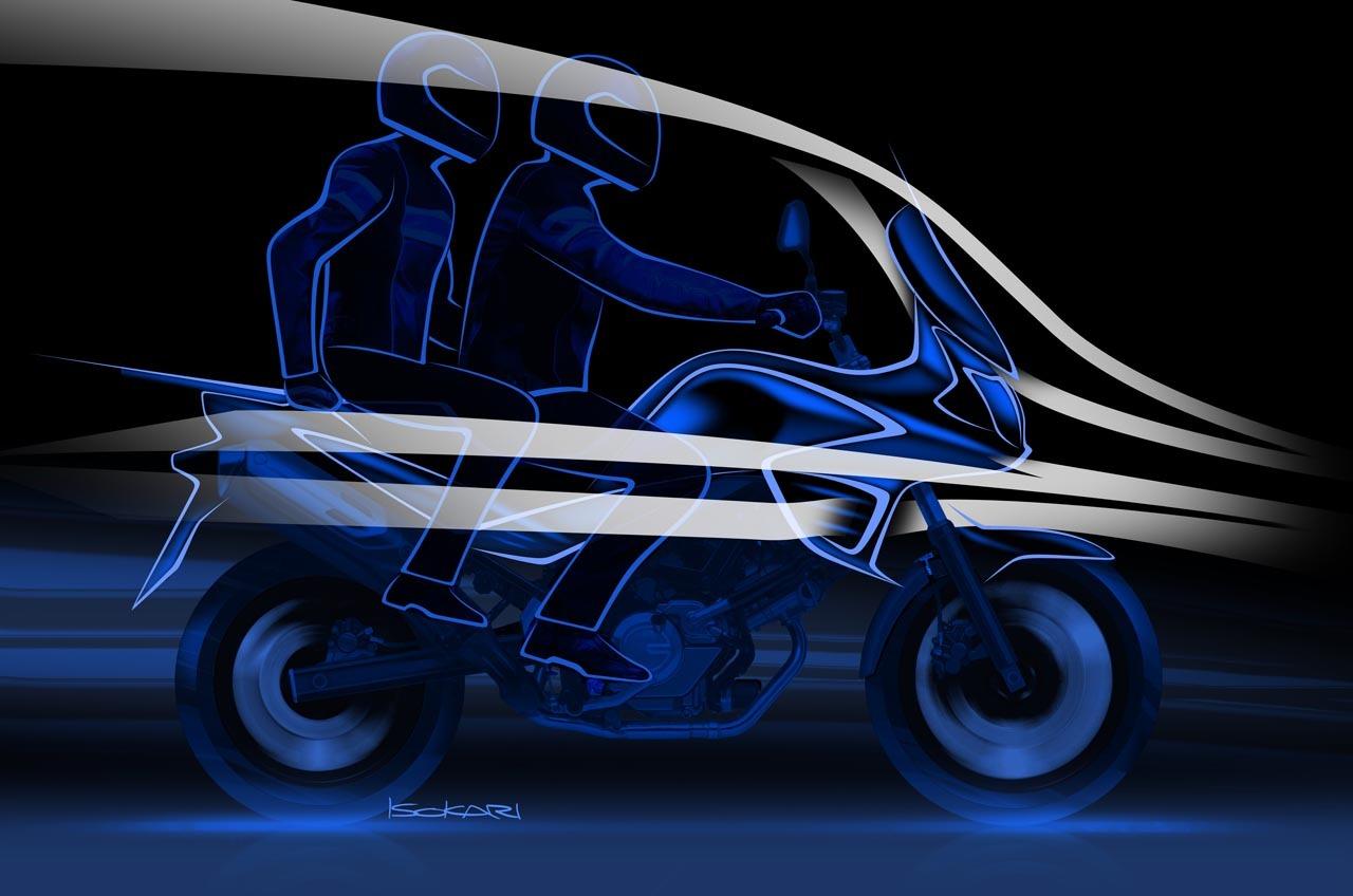 Foto de Suzuki V-Strom 650 2012, fotos de detalles y estudio (17/50)