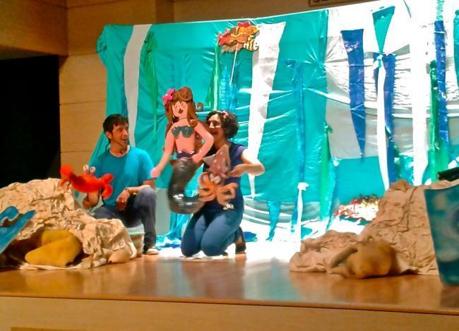 La niña del mar teatro infantil