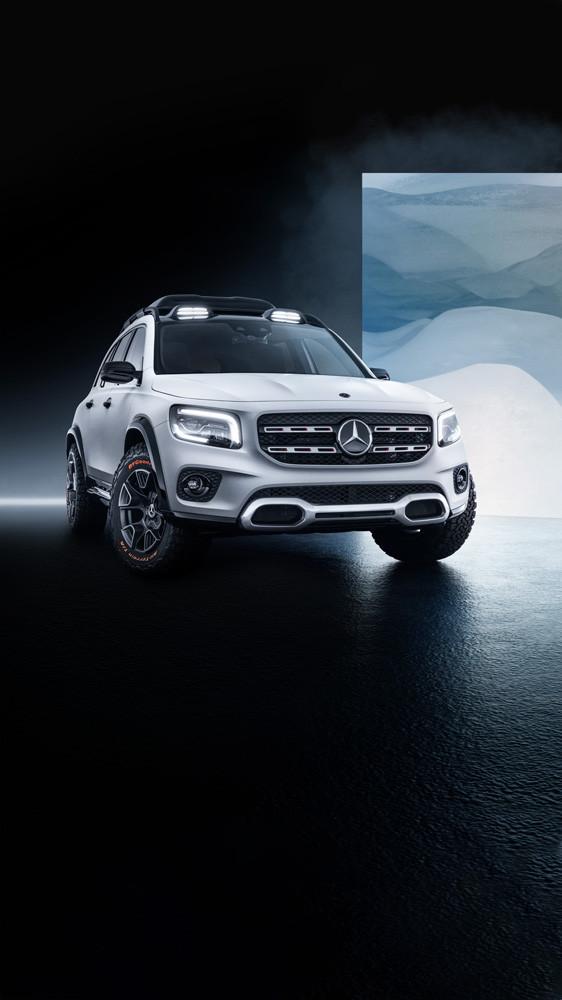 Foto de Mercedes-Benz GLB Concept (13/26)