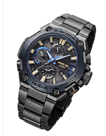 Casio Y Su Nuevo Reloj Mr G Conquistan Baselworld Con Su Diseno Unico Y Conectividad