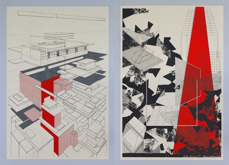Perspectivas arquitectónicas, por Ben Kafton