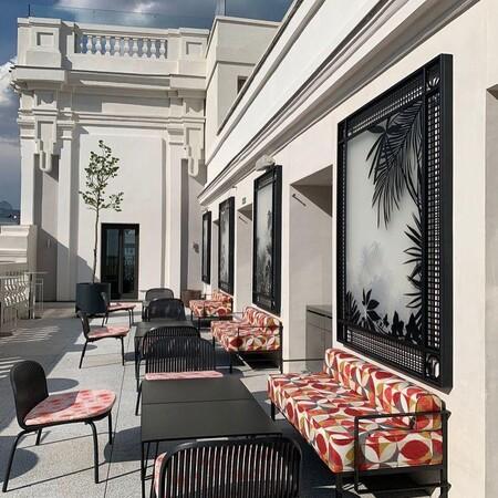 Terraza Hotel Cristiano Ronaldo