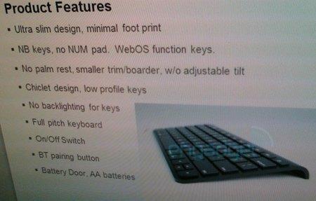 A la tablet HP webOS también le gustan los accesorios