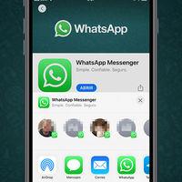 WhatsApp para iPhone ya integra sugerencias de contactos de manera nativa en el menú Compartir de iOS 13