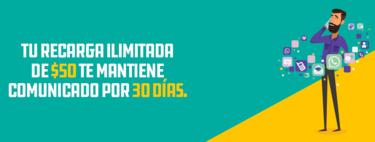 Segundo aire para Unefon Ilimitado: las recargas de 50, 70 y 100 pesos ahora dan 30 días de servicio ilimitado, pero con un truco