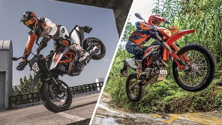 KTM 690 SMC R y 690 Enduro R: fieles a los 75 CV del monociclíndrico más potente de la historia