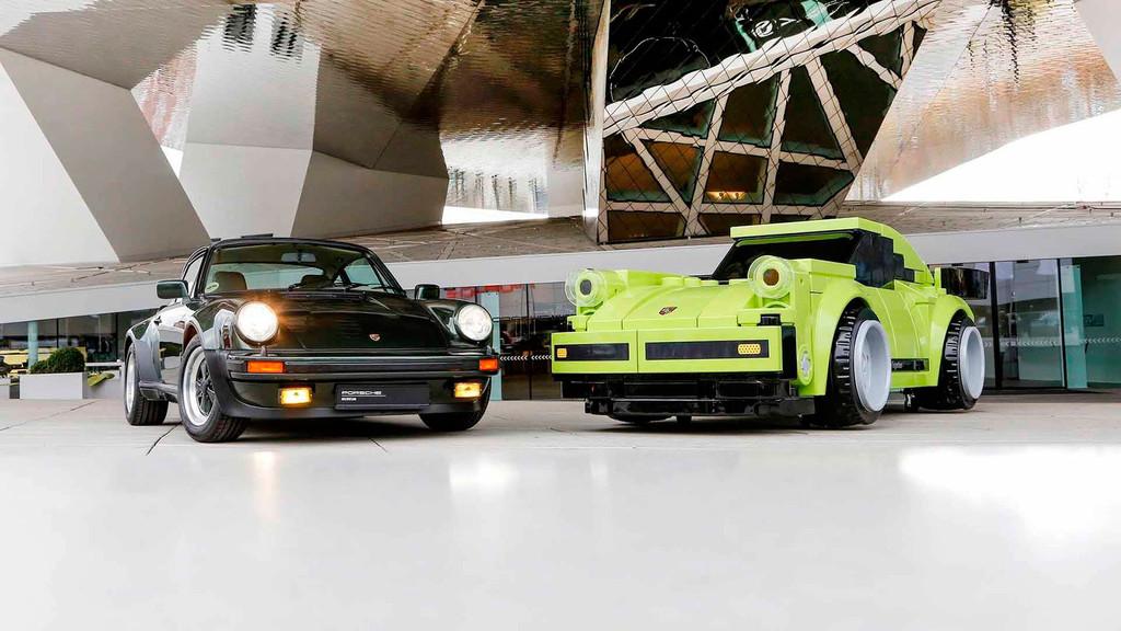 Un Porsche 911 Turbo de Lego... ¡a tamaño real!