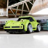 El Porsche 911 Turbo de Lego a tamaño real que querrías aunque no te quepa en la estantería