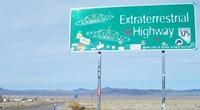 El Área 51 y la carretera de los extraterrestres