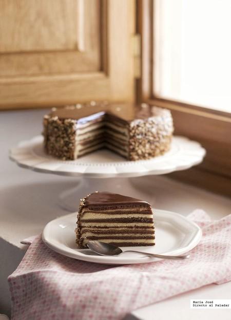 Si tienes una celebración especial, no te pierdas esta receta de Baumkuchen o pastel rallado