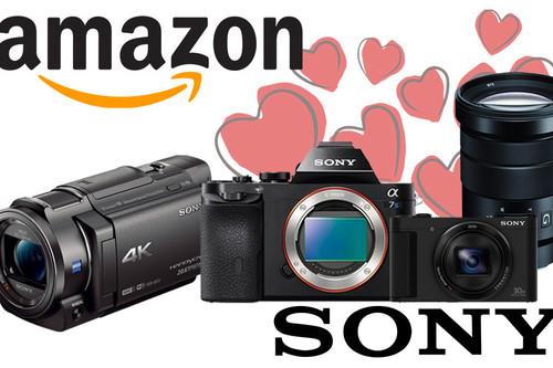 Ofertas en fotografía y vídeo Sony: Amazon te propone cámaras y objetivos, a precios rebajados para regalar en San Valentín