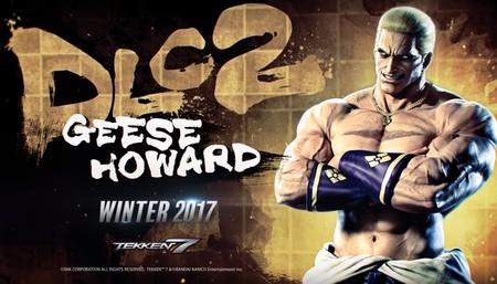 Geese Howard de la serie Fatal Fury es el segundo invitado de lujo de Tekken 7