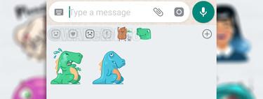 Nuevas pistas sobre los stickers de WhatsApp: estarán clasificados por emociones