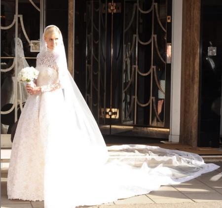 Nicky Hilton Vestido Novia