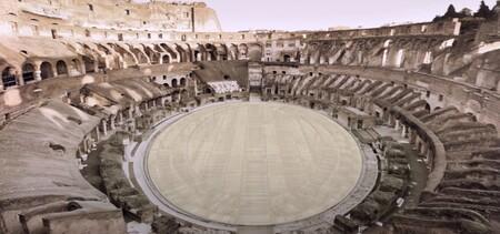 Así lucirá el Coliseo romano con el suelo de arena que nos lleva a la época de los gladiadores