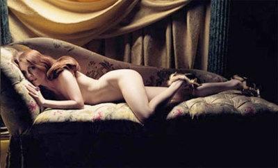 Julianne Moore al natural para Bvlgari