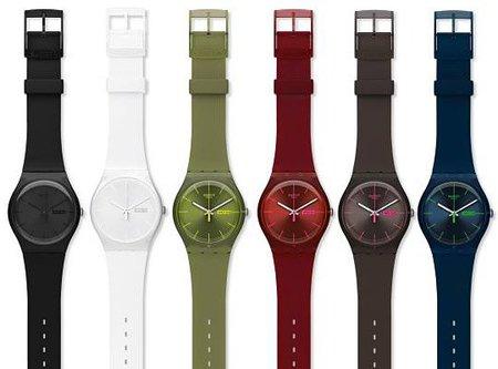 Swatch reinventa el modelo de reloj 'Gent' en su nueva colección