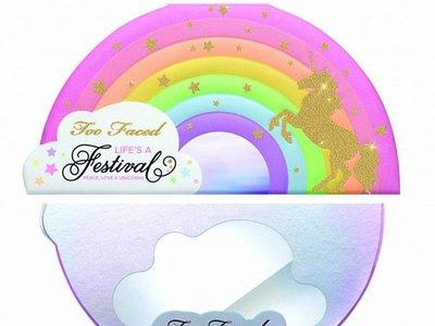 La colección 'Life's a Festival' de Too Faced volverá locas a las amantes de los unicornios