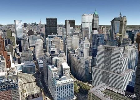 Imagen de la semana: Nueva York en Google Earth