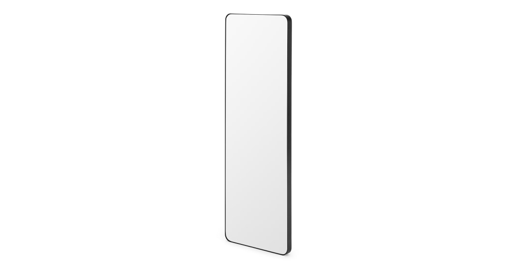 Espejo Arles  - Espejo de cuerpo entero Arles 40 x 120cm, negro mate.