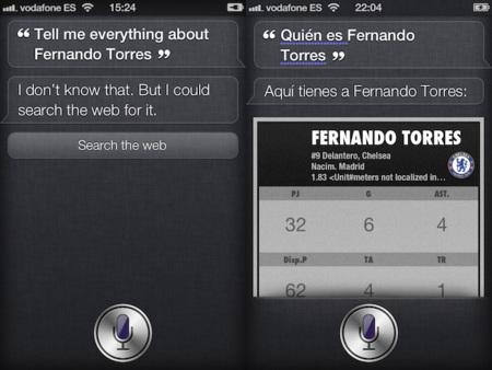 iOS 5 vs. iOS 6, Siri