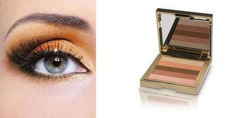 maquillaje ojos naranjas Babor