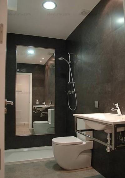 un espejo dentro de la ducha buena o mala idea