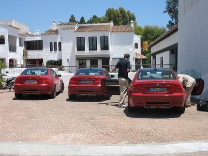 Fotos y video del nuevo BMW M3 en España